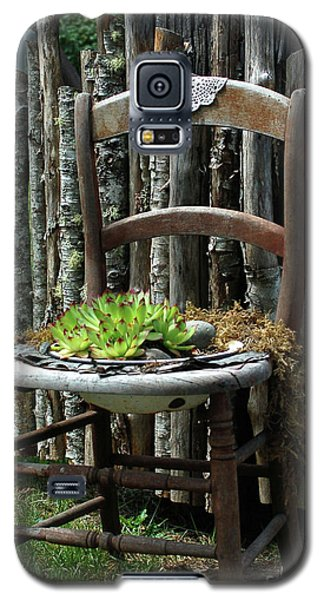 Chair Planter Galaxy S5 Case
