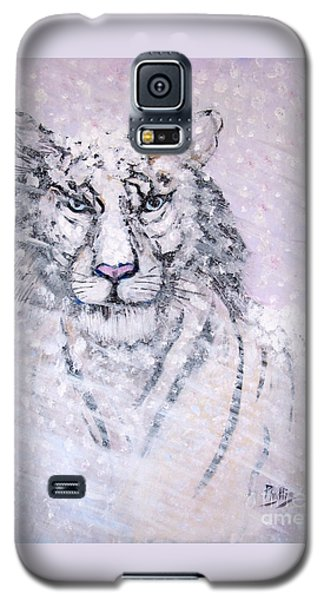 Galaxy S5 Case featuring the painting Chairman Of The Board by Phyllis Kaltenbach