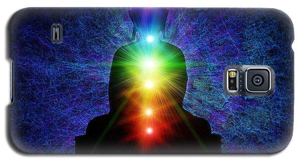 Chakra Buddha Galaxy S5 Case by Tim Gainey