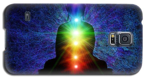 Chakra Buddha Galaxy S5 Case