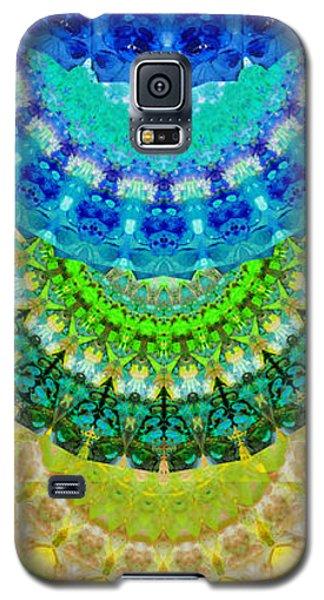 Chakra Mandala Healing Art By Sharon Cummings Galaxy S5 Case