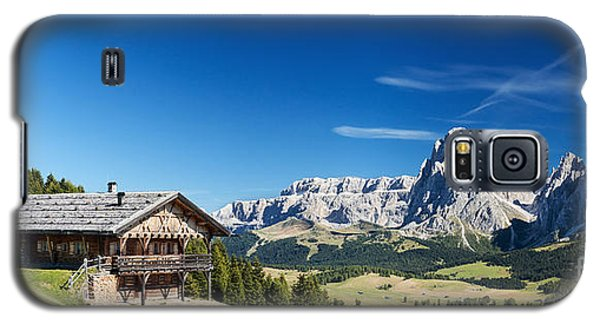 Chalet In South Tyrol Galaxy S5 Case by Carsten Reisinger