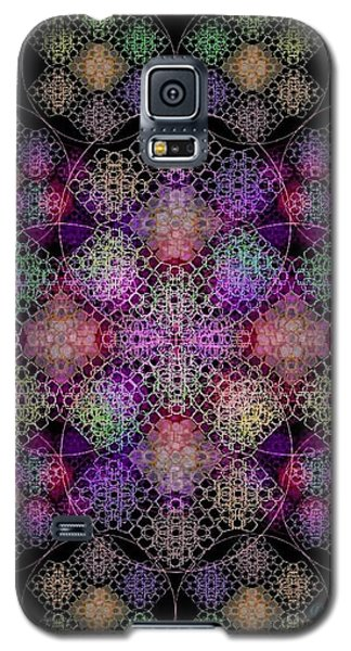 Chalice Cell Rings On Black Dk29 Galaxy S5 Case