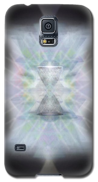 Galaxy S5 Case featuring the digital art Chalice Emerging by Christopher Pringer