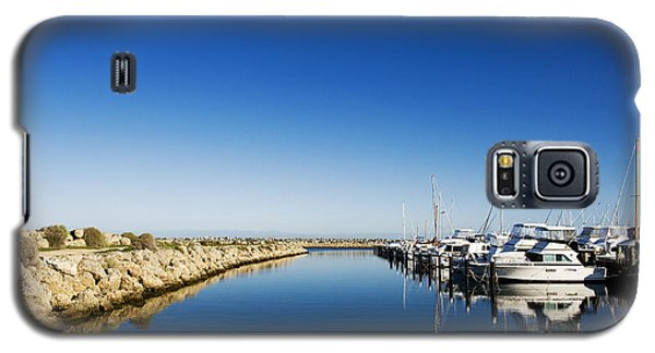Challenger Harbour Of Fremantle Galaxy S5 Case
