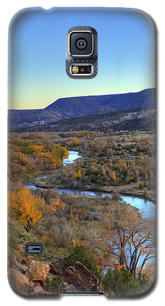 Chama River At Sunset Galaxy S5 Case