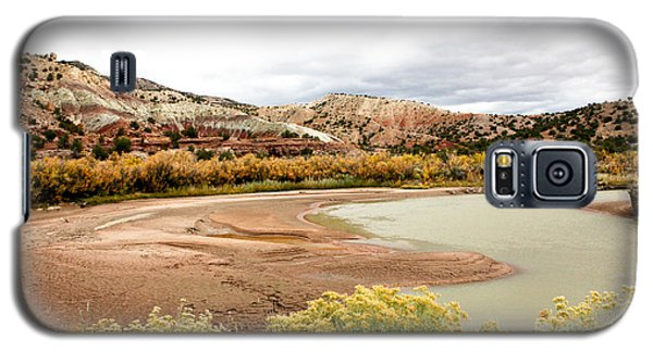 Galaxy S5 Case featuring the photograph Chama River Swim Spot by Roselynne Broussard
