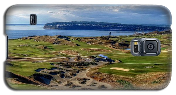 Chambers Bay View 2013 Cropped Galaxy S5 Case by Chris Anderson
