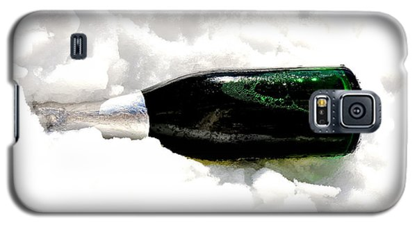 Galaxy S5 Case featuring the photograph Champagne In Ice by Marwan Khoury
