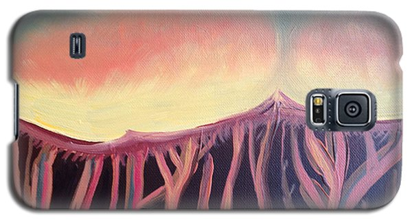 Champignons Landscape 2 In Work Galaxy S5 Case by Art Ina Pavelescu