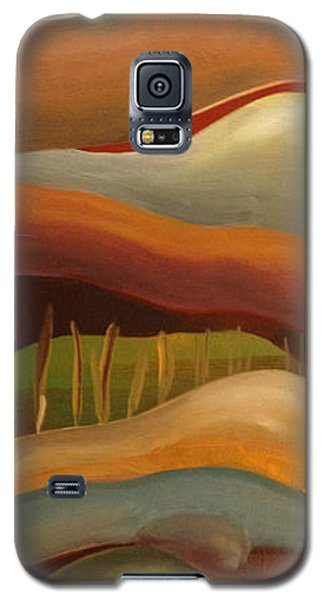 Champignons Landscape 3 In Work Galaxy S5 Case by Art Ina Pavelescu