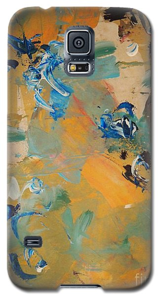 Galaxy S5 Case featuring the painting Chance Meeting by Nancy Kane Chapman