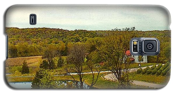 Chandler Hill Patio View Galaxy S5 Case