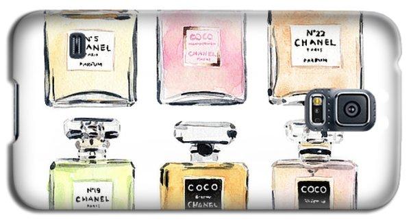 Chanel Perfumes Galaxy S5 Case by Laura Row Studio