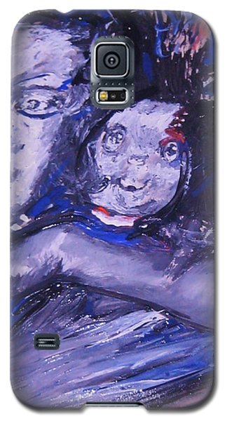 Galaxy S5 Case featuring the painting Changes by Dawn Fisher