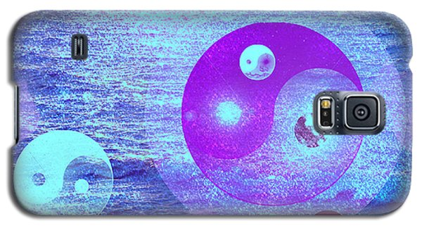 Galaxy S5 Case featuring the digital art Changing Currents Of Reality by Ute Posegga-Rudel
