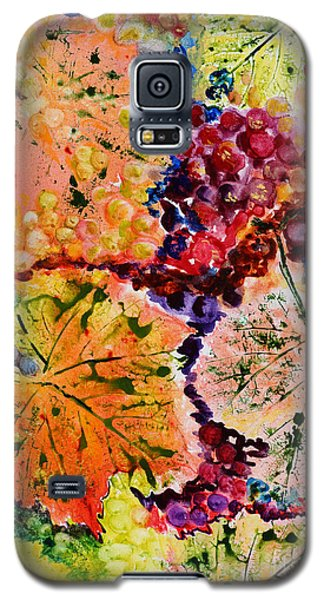 Galaxy S5 Case featuring the painting Changing Seasons by Karen Fleschler