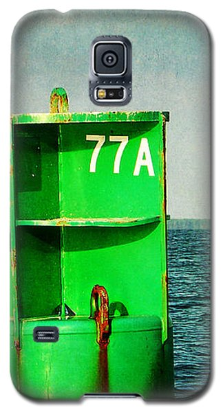Channel Marker 77a Galaxy S5 Case by Rebecca Sherman