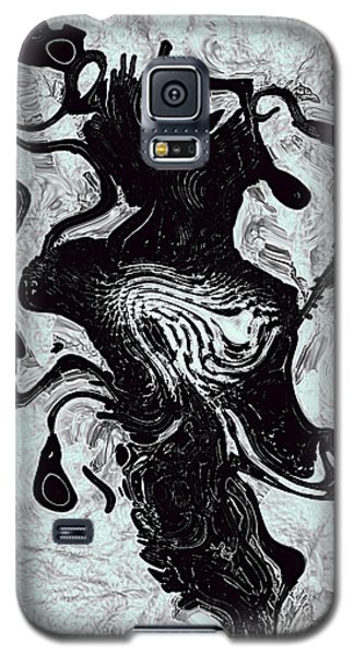 Galaxy S5 Case featuring the digital art Chanteuse by Richard Thomas