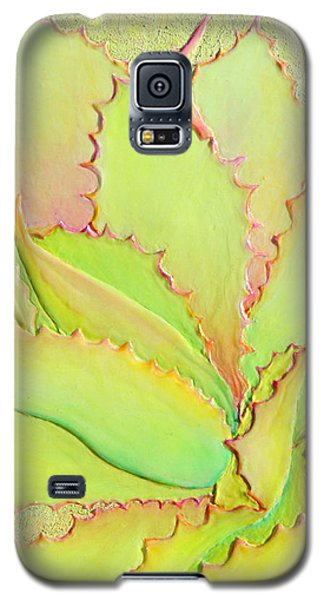 Galaxy S5 Case featuring the painting Chantilly Lace by Sandi Whetzel