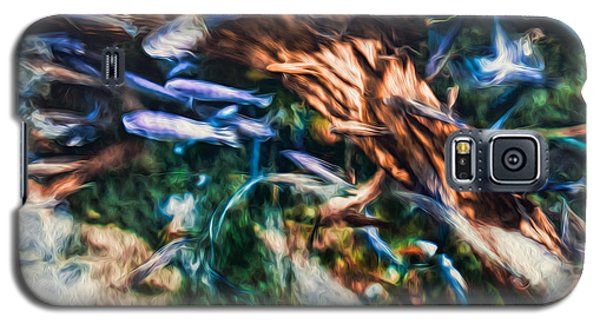 Galaxy S5 Case featuring the photograph Chaotic Mess by Joshua Minso