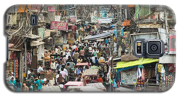 Chaotic Streets Of New Delhi In India Galaxy S5 Case