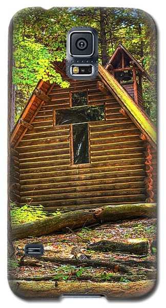 Chapel In The Pines Galaxy S5 Case