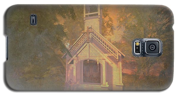 Chapel In The Wood Galaxy S5 Case by Kylie Sabra