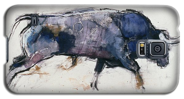 Bison Galaxy S5 Case - Charging Bull by Mark Adlington