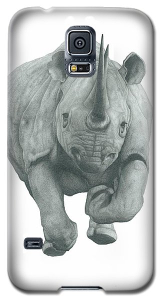 Charging Rhino Galaxy S5 Case by Rich Colvin