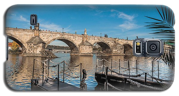 Galaxy S5 Case featuring the photograph Charles Bridge by Sergey Simanovsky