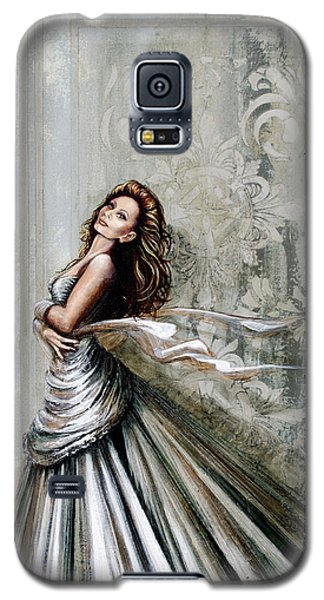 Swan Gown Galaxy S5 Case