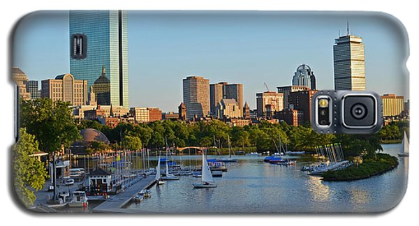 Charles River At Sunset Galaxy S5 Case