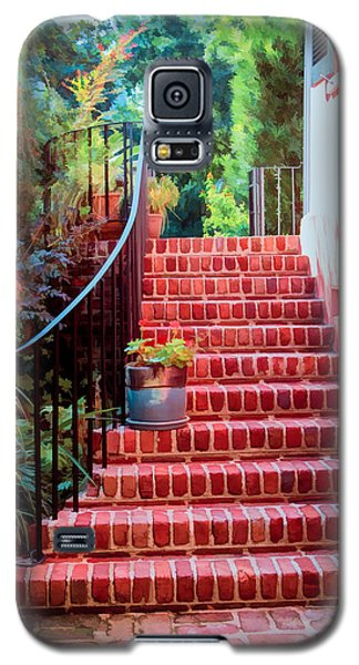 Galaxy S5 Case featuring the photograph Charleston Charm by Mary Timman