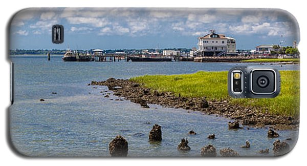 Galaxy S5 Case featuring the photograph Charleston Harbor by Sennie Pierson