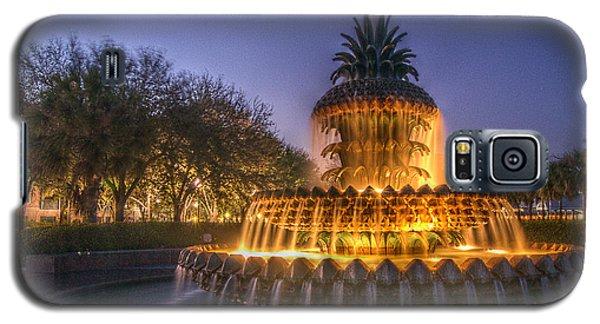 Charleston Pineapple Fountain Galaxy S5 Case