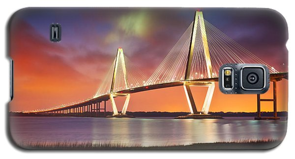 Architecture Galaxy S5 Case - Charleston Sc - Arthur Ravenel Jr. Bridge Cooper River by Dave Allen