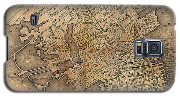 Charleston Vintage Map No. I Galaxy S5 Case
