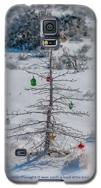 Charlie Brown Christmas Tree Galaxy S5 Case
