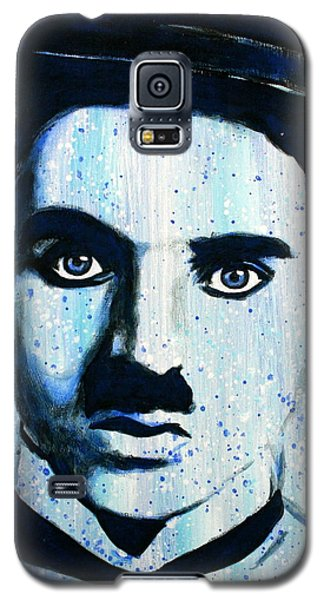 Charlie Chaplin Little Tramp Portrait Galaxy S5 Case