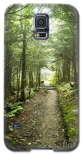 Galaxy S5 Case featuring the photograph Charlies Bunion Bald Trail by Debbie Green