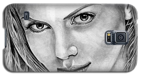 Charlize Theron Galaxy S5 Case