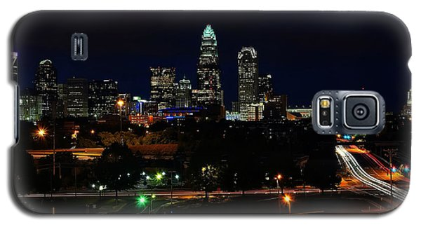 Charlotte Nc At Night Galaxy S5 Case
