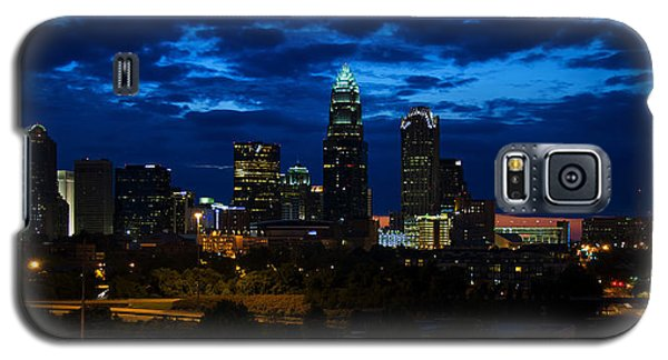 Charlotte North Carolina Panoramic Image Galaxy S5 Case