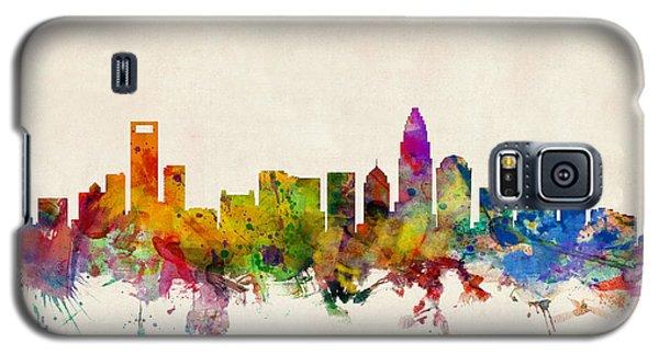 Charlotte North Carolina Skyline Galaxy S5 Case