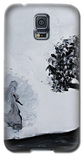 Galaxy S5 Case featuring the painting Charlotte's Grave by Lola Connelly