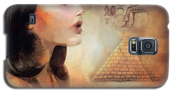 Galaxy S5 Case featuring the painting Charm Of Egypt by Wayne Pascall
