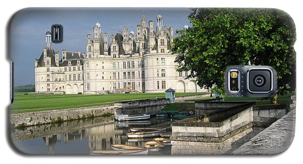 Galaxy S5 Case featuring the photograph Chateau Chambord Boating by HEVi FineArt