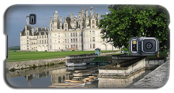 Chateau Chambord Boating Galaxy S5 Case