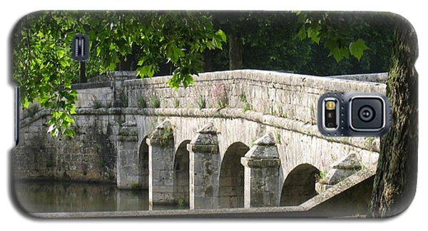 Chateau Chambord Bridge Galaxy S5 Case